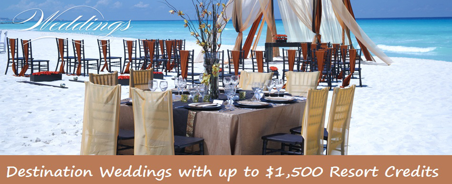 Palace Resorts - Weddings and $1500 Resort Credit