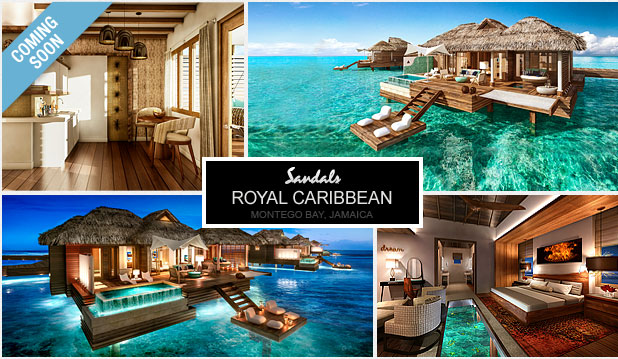 Spectacular Over-the-water Bungalows